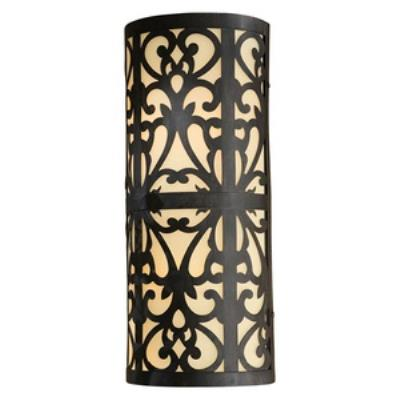 Minka Lavery 1492-A357-PL Nanti - Two Light Outdoor Wall Sconce