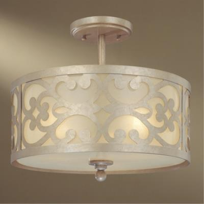 Minka Lavery 1498 Nanti - Three Light Semi-Flush Mount