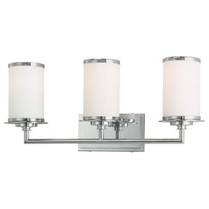 Glass Note - Three Light Bath Vanity