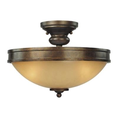 Minka Lavery 4232-288 Atterbury - Three Light Semi Flush Mount