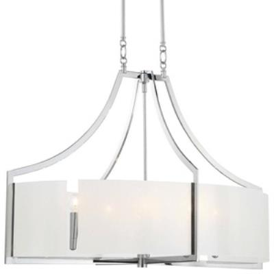 Minka Lavery 4398-77 Clarte - Six Light Oval Pendant
