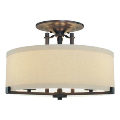 Minka Lavery 4499-298 Ansmith - Three Light Semi Flush Mount