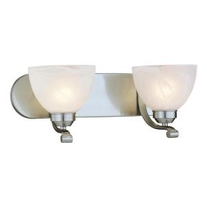 "Paradox - 7.25"" Two Light Bath Vanity"
