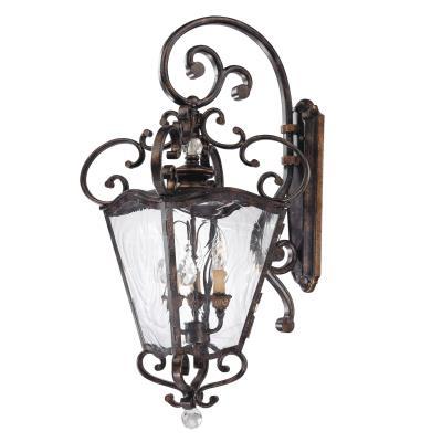 Minka Metropolitan Lighting N3247-270 Terraza Villa - Three Light Outdoor Wall Lantern