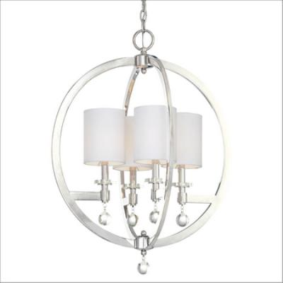 Minka Metropolitan Lighting N6840-613 Chadbourne - Four Light Pendant
