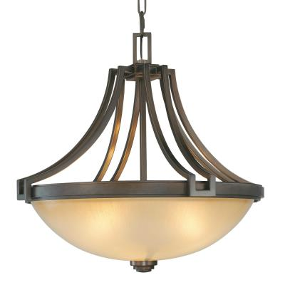 Minka Metropolitan Lighting N6952-267B Walt Disney Signature-Underscore - Four Light Bowl Pendant