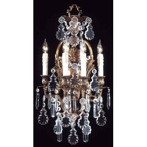 Four Light Wall Sconce