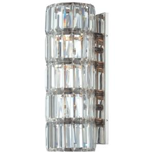 Crysalyn Falls - Four Light Wall Sconce