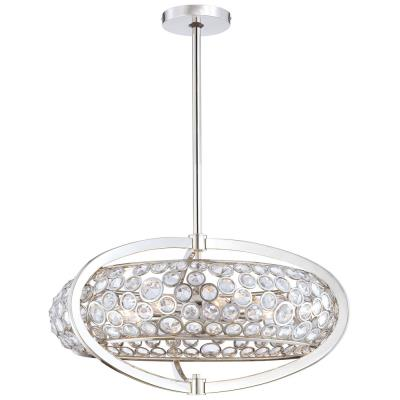 Minka Metropolitan Lighting N6756-613 Magique - Eight Light Drum Pendant