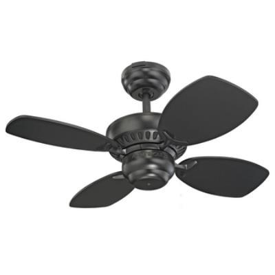 """Monte Carlo Fans 4CO28BK Colony II -28"""" Ceiling Fan"""