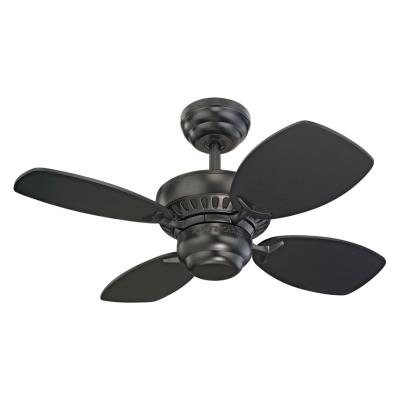 "Monte Carlo Fans 4CO28BK Colony II -28"" Ceiling Fan"