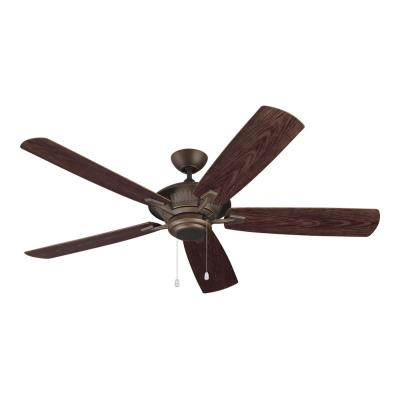 "Monte Carlo Fans 5CY60RB Cyclone -60"" Outdoor Ceiling Fan"