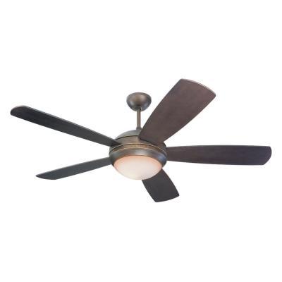 "Monte Carlo Fans 5DI52RBD-L Discus -52"" Ceiling Fan"