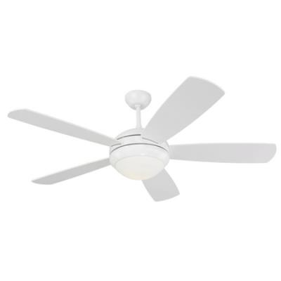 "Monte Carlo Fans 5DI52WHD-L Discus -52"" Ceiling Fan"