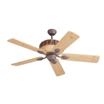 "Monte Carlo Fans 5GL52WI Great Lodge -52"" Ceiling Fan"