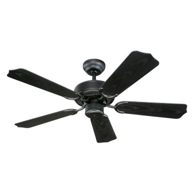 Monte Carlo Fans 5WF42BK Weatherford II - 42'' Outdoor Ceiling Fan