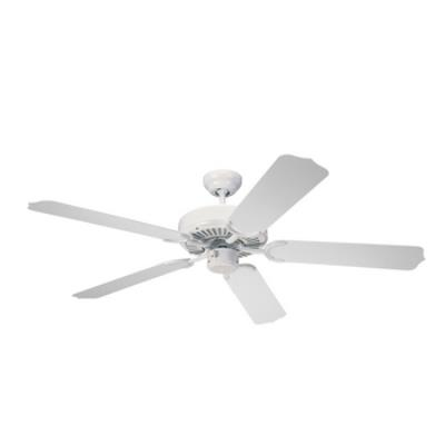 "Monte Carlo Fans 5WF52WH Weatherford -52"" Semi-Flush Ceiling Fan"