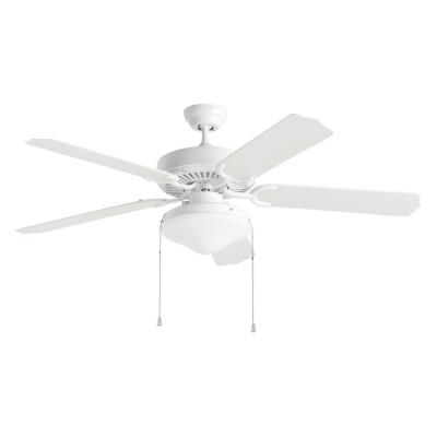"Monte Carlo Fans 5WF52WHD-L Weatherford Deluxe -52"" Outdoor Ceiling Fan"