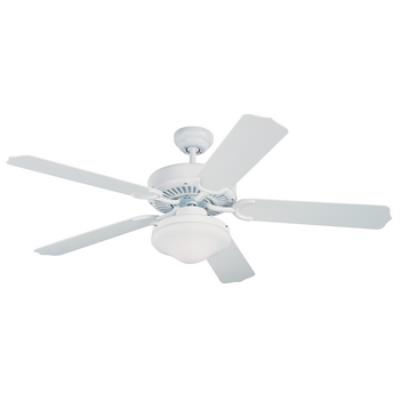 """Monte Carlo Fans 5WF52WHD-L Weatherford Deluxe -52"""" Outdoor Ceiling Fan"""