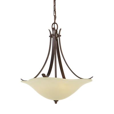 Feiss F2045/3GBZ Morningside - Three Light Pendant
