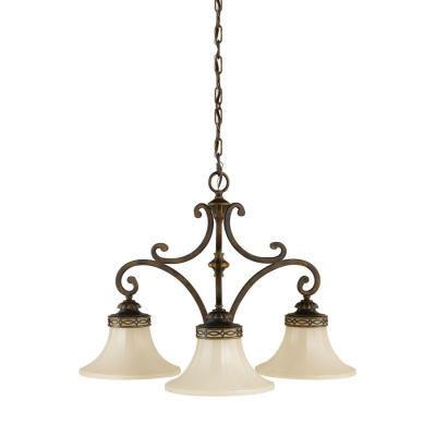 Feiss F2219/3WAL Drawing Room CollectionChandelier - Kitchen