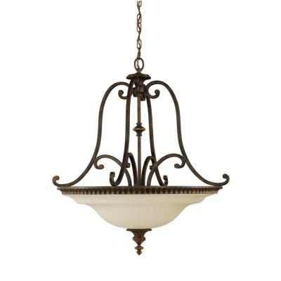 Feiss F2222/4WAL Drawing Room CollectionPendant - Up