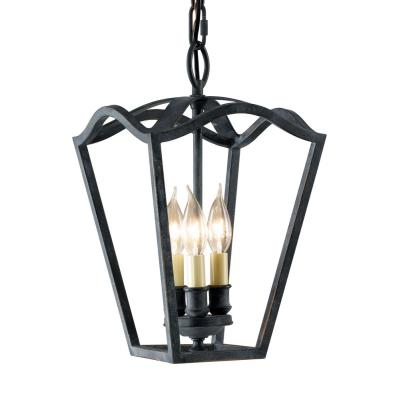 Feiss F2324/3AF King's Table Collection3-Light Hallway Duo-mount Chandelier