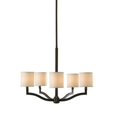 Feiss F2519/5ORB Stelle - Five Light Chandelier