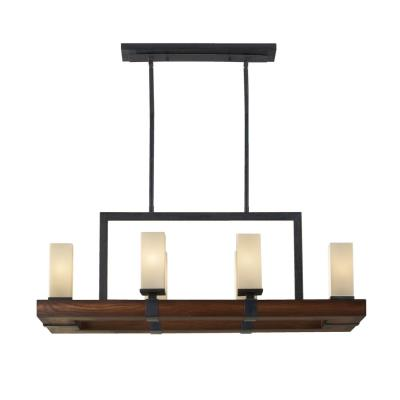Feiss F2592/6AF/AGW Madera - Six Light Chandelier