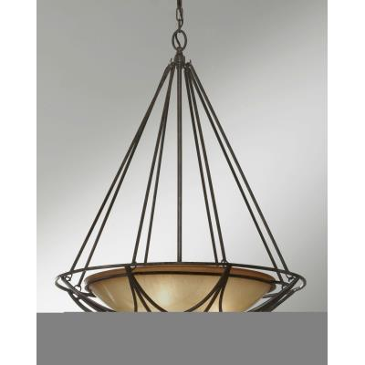 Feiss F2607/3MBZ El Nido - Three Light Pendant