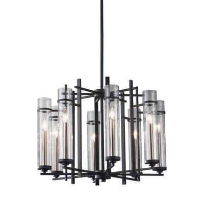 Feiss F2628/8AF/BS Ethan - Eight Light Chandelier