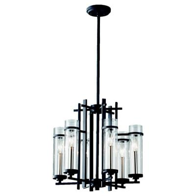 Feiss F2631/6AF/BS Ethan - Six Light Chandelier