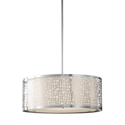 Feiss F2638/3CH Joplin - Three Light Large Pendant
