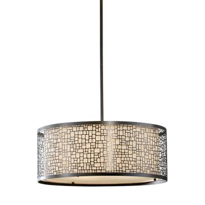 Feiss F2638/3LAB Joplin - Three Light Large Pendant