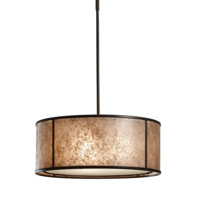 Feiss F2639/3LAB Taylor - Three Light Large Pendant