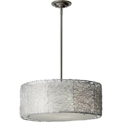Feiss F2702/3BS Wired - Three Light Pendant