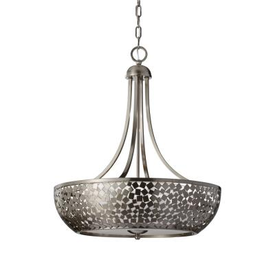 Feiss F2745/4BS Zara - Four Light Pendant