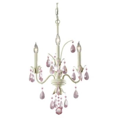 Feiss F2756/3IV Charlene - Three Light Chandelier