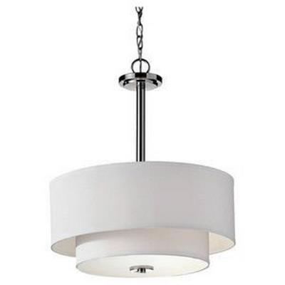 Feiss F2770/3PN Malibu - Three Light Pendant