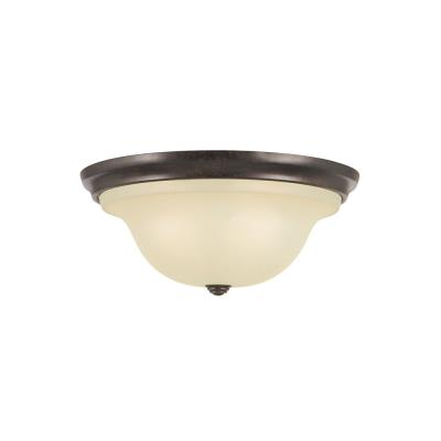 Feiss FM252GBZ Morningside - Three Light Flush Mount