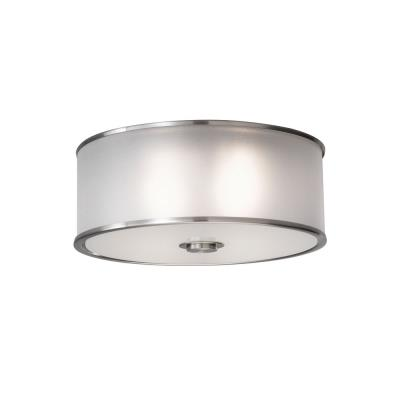 Feiss FM291BS Casual Luxury - Two Light Flush Mount