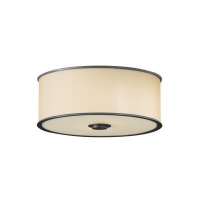 Feiss FM291DBZ 2-Light Casual Luxury Flushmount