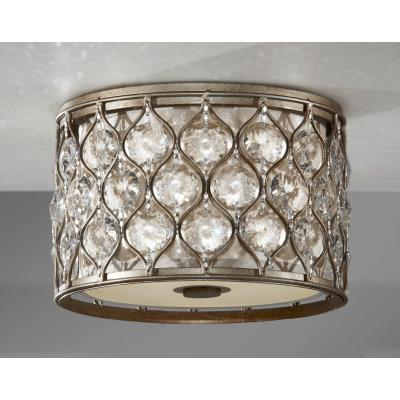 Feiss FM355BUS Lucia - Two Light Flush Mount