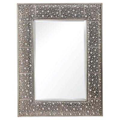 "Feiss MR1175RUS Danby - 30"" Square Mirror"