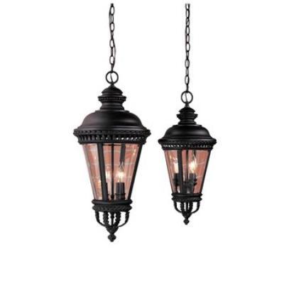 Feiss OL1911BK Hanging Lantern