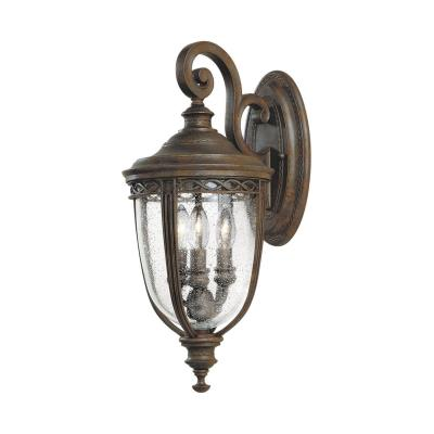 Feiss OL3001BRB Wall Mount Lantern