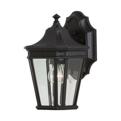 Feiss OL5400BK Cotswold Lane - One Light Outdoor Wall Lantern