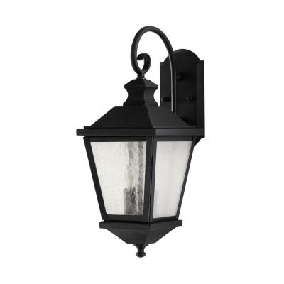 Feiss OL5701BK Woodside Hills - Two Light Outdoor Wall Lantern