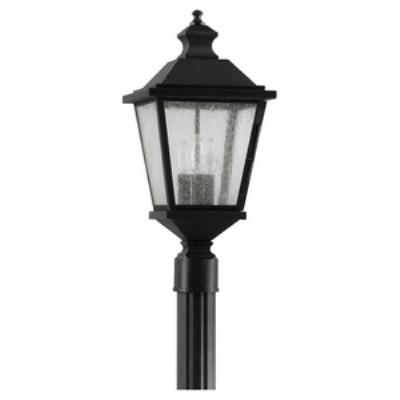 Feiss OL5707BK Woodside Hills - Three Light Outdoor Post Mount