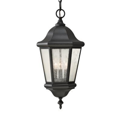 Feiss OL5911BK Martinsville - Three Light Outdoor Hanging Lantern
